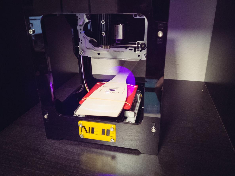 Lasergravierer Pfannenwender