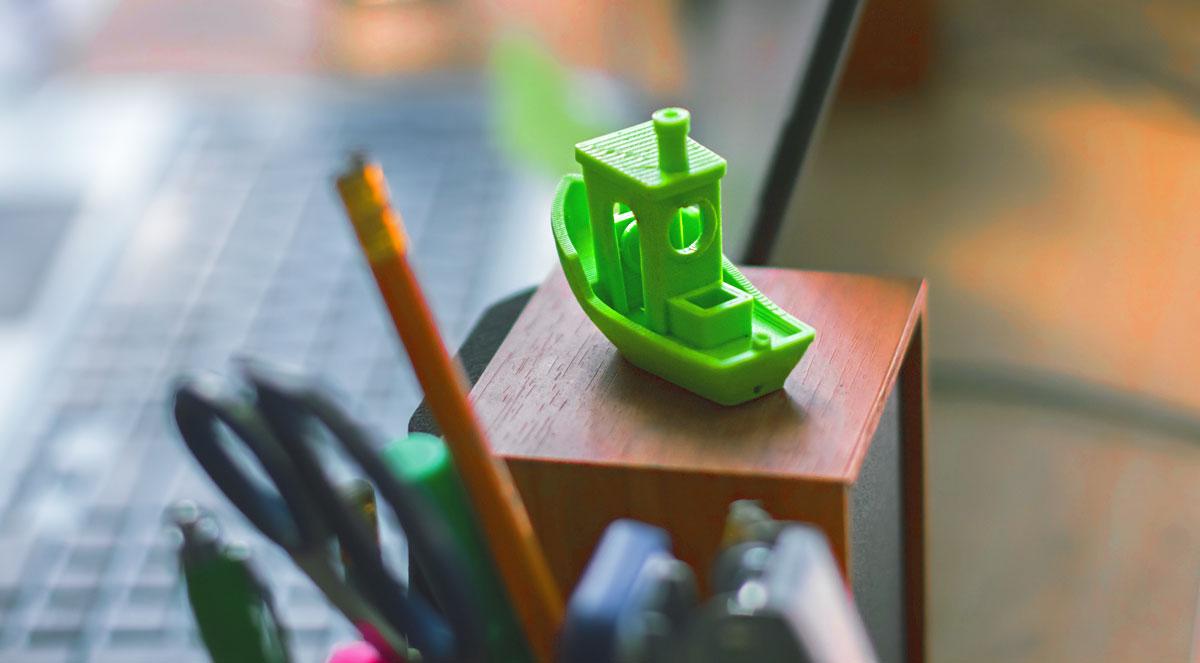 Test Banshee für 3D Druck Filamente Vergleich