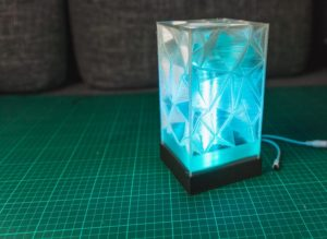 Smart Home Lampe aus dem 3D Drucker