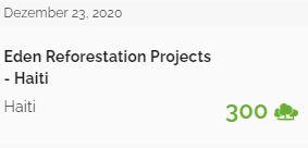 Baumspende für 2020
